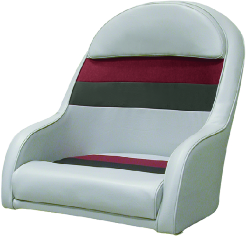 Wise Seat Deluxe Pontoon Furniture Captain Chair Light
