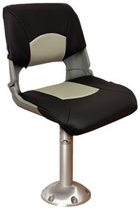 Springfield Skipper Chair Pedestal Package Gray 1001003