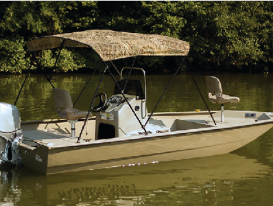 Carver Carver 54 High 3 Bow Complete Ready To Assemble Bimini Top Poly Guard Mossy Oak Shadow Grass Camo Print With Black Frame C5469ubb Sg