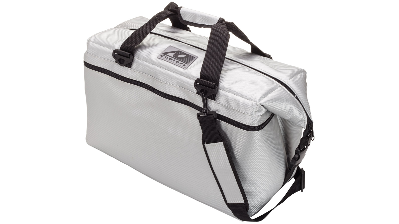 AO Coolers 36-Pack Carbon Series Cooler Silver AOCR36SL