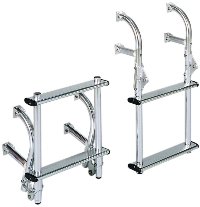 Dotline Universal Mount Folding Ladder 2 Step 11 Quot W X