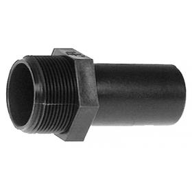 Shields Hose Div Sierra Supply Fitting 1-1/8 X 1 MP Straight N8001180